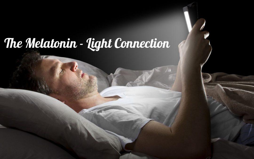 Melatonin Light Connection Title image