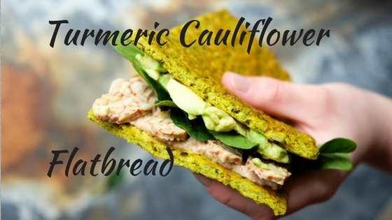 Turmeric Cauliflower Flatbread