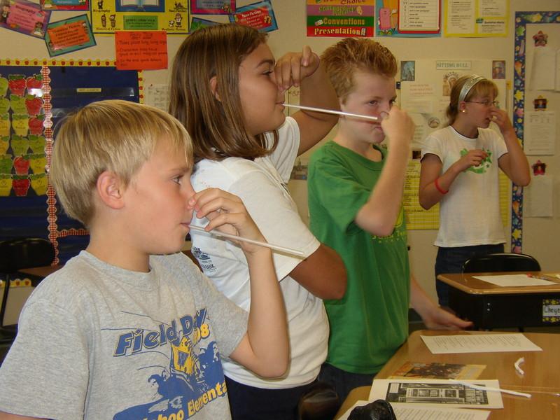 Kids Straw Breathing Anxiety