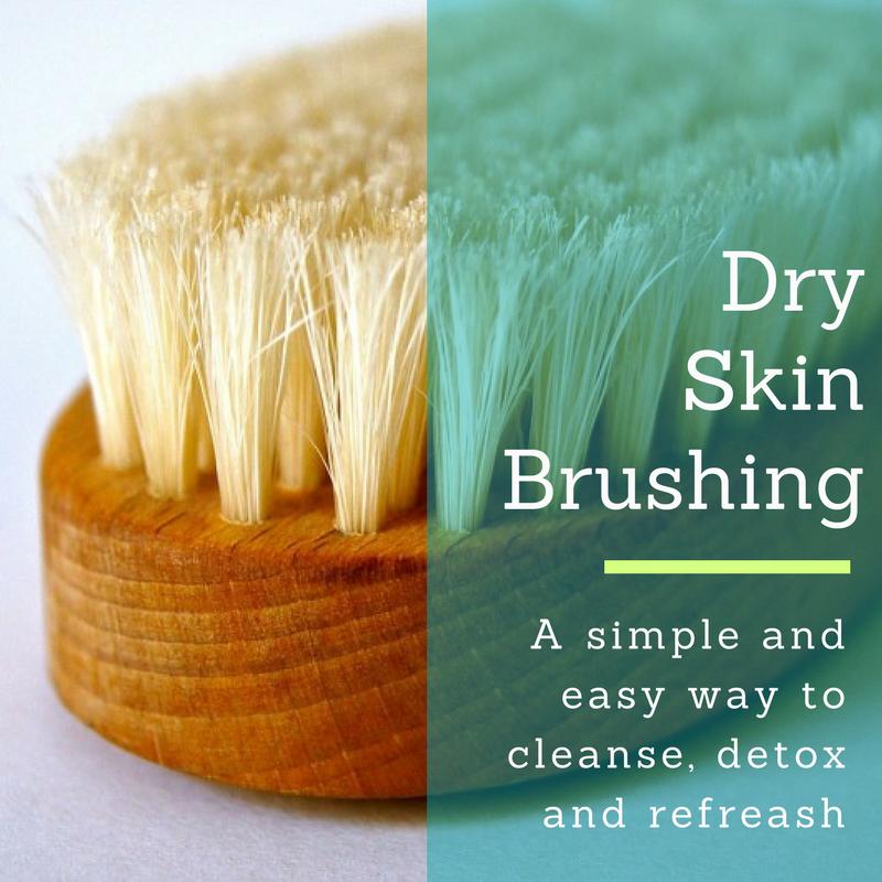 Dry Skin Brushing Easy Detox